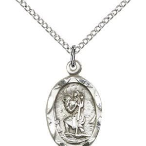 St. Christopher Pendant - 83038 Saint Medal