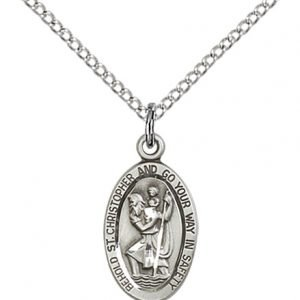St. Christopher Pendant - 84433 Saint Medal