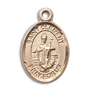 St. Clement Charm - 14 Karat Gold Filled (#85346)