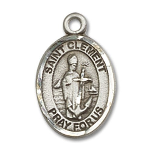 St. Clement Charm - Sterling Silver (#85348)