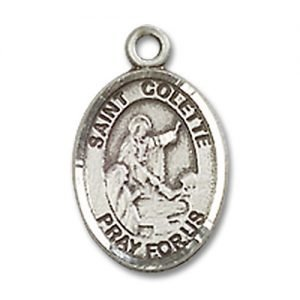 St. Colette Charm - Sterling Silver (#85160)