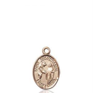 St. Columbanus Charm - 14 KT Gold (#85293)