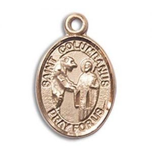 St. Columbanus Charm - 14 Karat Gold Filled (#85292)