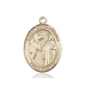 St. Columbanus Medal - 84106 Saint Medal