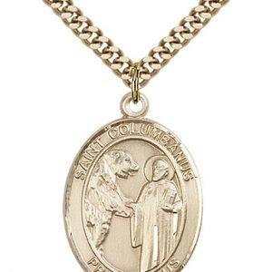 St. Columbanus Medal - 82733 Saint Medal