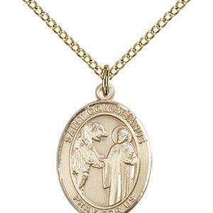 St. Columbanus Medal - 84105 Saint Medal