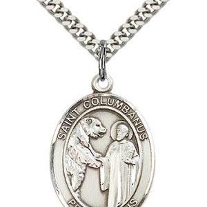 St. Columbanus Medal - 82735 Saint Medal