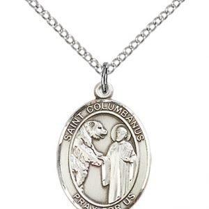 St. Columbanus Medal - 84107 Saint Medal