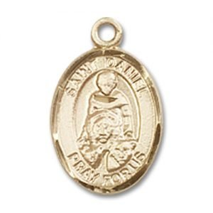St. Daniel Charm - 14 Karat Gold Filled (#84532)
