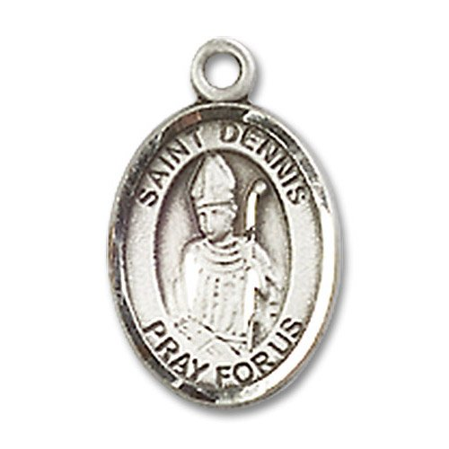 St. Dennis Charm - Sterling Silver (#84537)