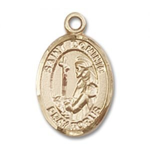 St. Dominic De Guzman Charm - 14 Karat Gold Filled (#84550)