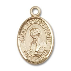 St. Dominic Savio Charm - 14 Karat Gold Filled (#85075)