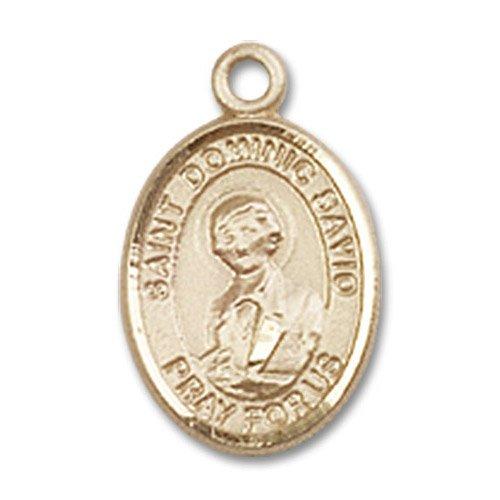 St. Dominic Savio Charm - 14 Karat Gold Filled (#85075)