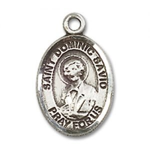 St. Dominic Savio Charm - Sterling Silver  (#85077)