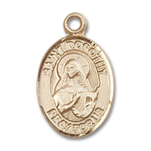St. Dorothy Charm - 14 Karat Gold Filled (#84529)