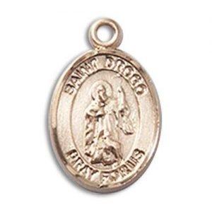 St. Drogo Charm - 85466 Saint Medal