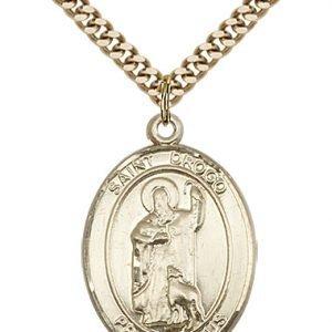 St. Drogo Medal - 82907 Saint Medal