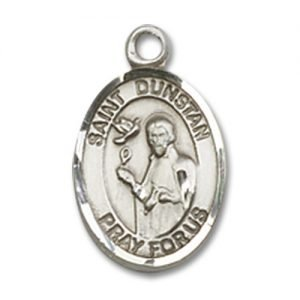 St. Dunstan Charm - Sterling Silver (#85381)