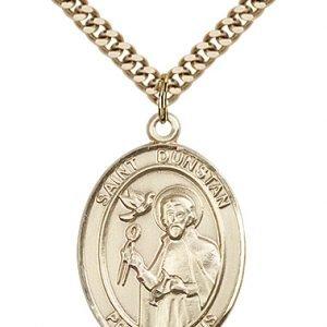 St. Dunstan Medal - 82820 Saint Medal