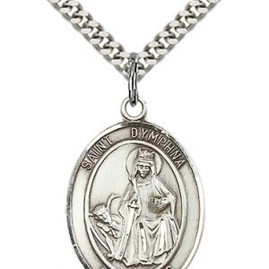 St. Dymphna Medal - 82001 Saint Medal