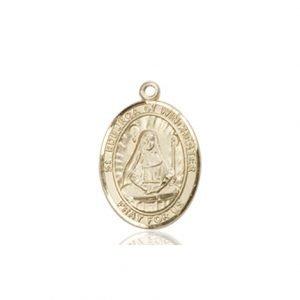 St. Edburga of Winchester Charm - 85302 Saint Medal