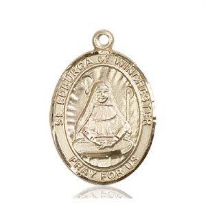 St. Edburga of Winchester Medal - 82743 Saint Medal