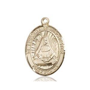 St. Edburga of Winchester Medal - 84115 Saint Medal