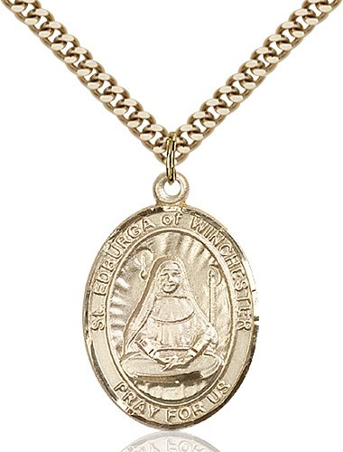 St. Edburga of Winchester Medal - 82742 Saint Medal