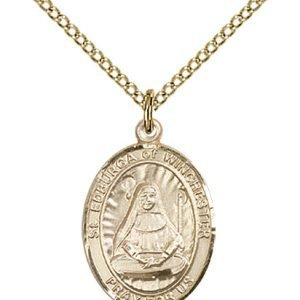 St. Edburga of Winchester Medal - 84114 Saint Medal