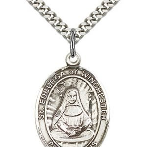 St. Edburga of Winchester Medal - 82744 Saint Medal