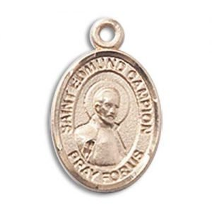 St. Edmund Campion Charm - 14 Karat Gold Filled (#85328)
