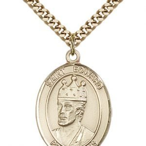 St. Edward the Confessor Medal - 81981 Saint Medal
