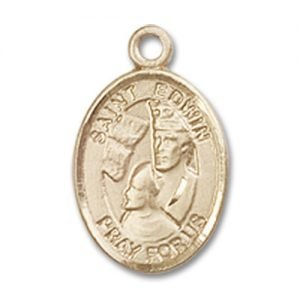 St. Edwin Charm - 14 Karat Gold Filled (#85397)