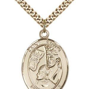 St. Edwin Medal - 82838 Saint Medal