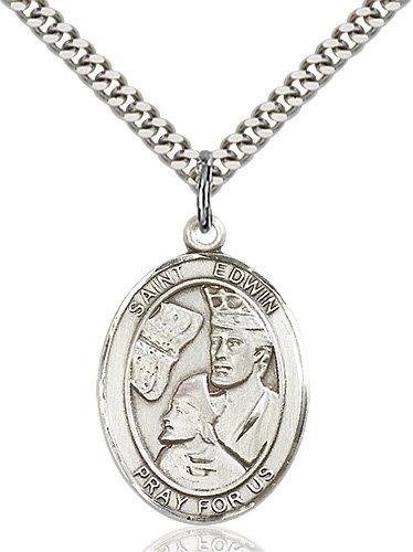 St. Edwin Medal - 82840 Saint Medal