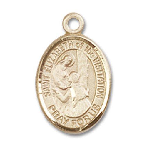 St. Elizabeth of the Visitation Charm - 14 Karat Gold Filled (#85262)