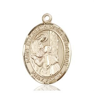 St. Elizabeth of the Visitation Medal - 82704 Saint Medal