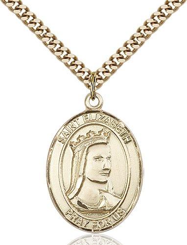 St. Elizabeth of Hungary Medal - 82002 Saint Medal