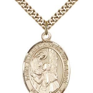 St. Elizabeth of the Visitation Medal - 82703 Saint Medal
