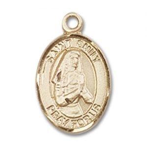St. Emily De Vialar Charm - 14 Karat Gold Filled (#84598)