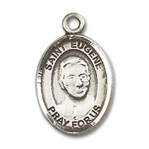 St. Eugene De Mazenod Charm - Sterling Silver (#85154)