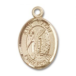 St. Fiacre Charm - 14 Karat Gold Filled (#85232)
