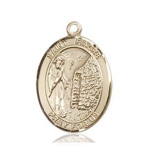 St. Fiacre Medal - 82674 Saint Medal