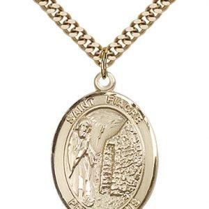 St. Fiacre Medal - 82673 Saint Medal