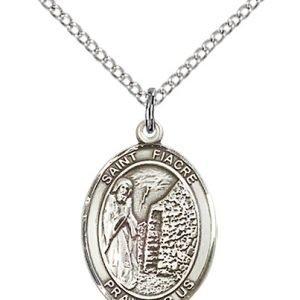 St. Fiacre Medal - 84047 Saint Medal