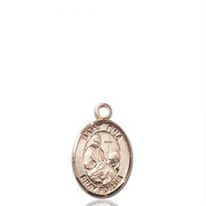 St. Fina Charm - 14 KT Gold (#85407)
