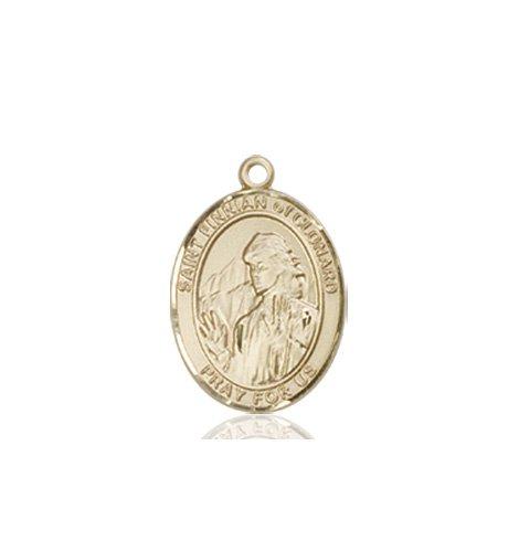St. Finnian of Clonard Charm - 85254 Saint Medal
