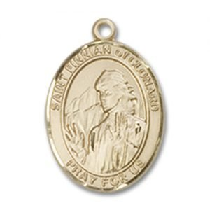 St. Finnian of Clonard Charm - 14 Karat Gold Filled (#85253)