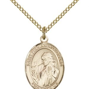 St. Finnian of Clonard Medal - 84066 Saint Medal