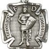 St. Florian Charm - Sterling Silver  (#84450)